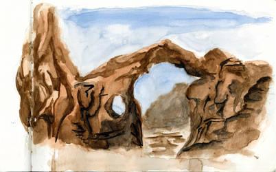 Arches National Park, Utah by Dulliros