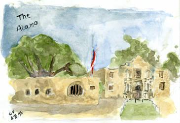 The Alamo by Dulliros