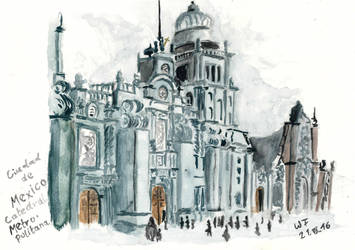 Mexico City Cathedral by Dulliros