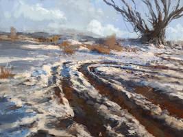 winter by sangvine