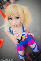 AFA 2012 - Lollipop Chainsaw 02 by shiroang