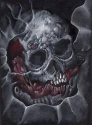 Mutation Skull by Narcisse-Shrapnel