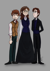 Unity [pt 1] - Characters by PaintSplatKat