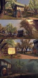 Arenanet Building Environment by samdrewpictures