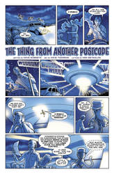 The Thing from another Postcode Pg1 by KenReynoldsDesign