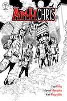 Antichris #1 Cover by KenReynoldsDesign
