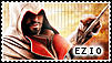 Ezio Auditore_stamp by MissCaelum