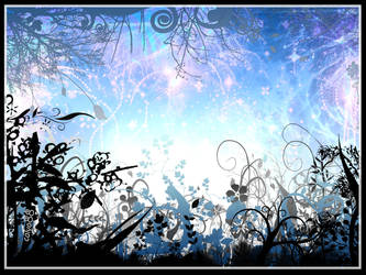Vector Night Garden 2 by calva88