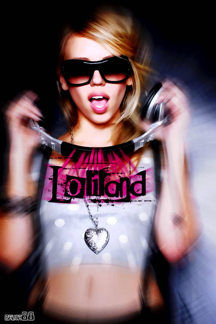 DJ LOLI Fan Art by calva88