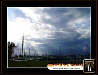 Morning Boat Deck by calva88