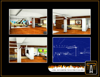 Joel Sander's Noho Penthouse by calva88