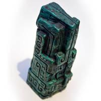Mayan Cthulhu Totem by FoxH