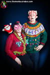 Demons in Ugly Christmas Sweaters 2015 (4) by FoxH