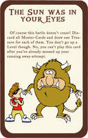 Munchkin Card Blinded by the light by Sunkanimy