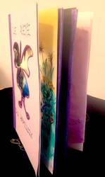 Livre illustre, leporello ou accordeon by MelusineArwen
