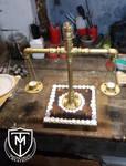 Weight balance shaped candel holder by MattiaTegonCreations