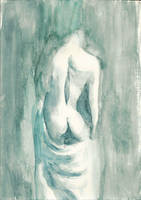 Woman's back by Hymnodi