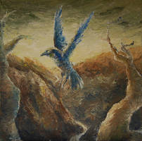 Blue bird by Hymnodi