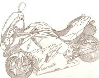Ninja zx by Shiroi-Tombo
