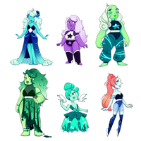 LOWERED Gem Adopts Batch #2 (1/6 OPEN) by AlyOnyxTwo