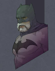 Bearded Bat by AdamGraphite