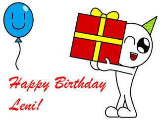 Happy Birthday Leni :) by Kokin144