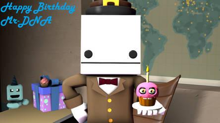 Happy Birthday Mr-DNA by Kokin144