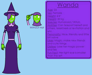 Wanda (OC) by Kokin144