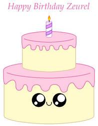 Happy Birthday Zeurel by Kokin144