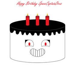 Happy Birthday SpaceCaptainOrca by Kokin144