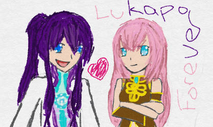 Lukapo Forever! (LukaxGakupo Tablet Drawing) by XxAnimatedDreamerxX