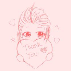 Thank you - sweet sixteen by XxAnimatedDreamerxX