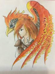 The Firebird  by XxAnimatedDreamerxX