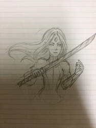Fight - Artemis by XxAnimatedDreamerxX