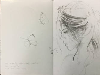 Sketchbook project 1 by XxAnimatedDreamerxX