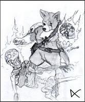 speedrawing by Darkdarius