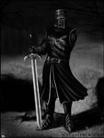TheBlackKnight by Darkdarius