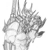buh, little demon by Darkdarius