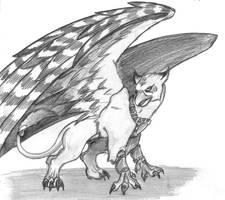 gryphon by Darkdarius