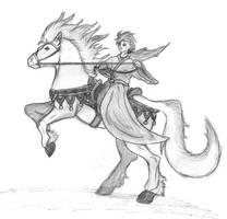 horse by Darkdarius