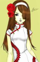 Lady Rose Dragon by 13jessi13