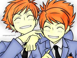 Hikaru and Kaoru by 13jessi13