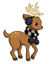 Reindeer by 13jessi13