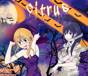 Citrus Halloween by Oohashi-Akko