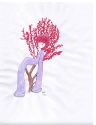 Be the tree. Part of the tree by Angelheartdream