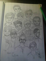 Thr Men of Youtube by Angelheartdream