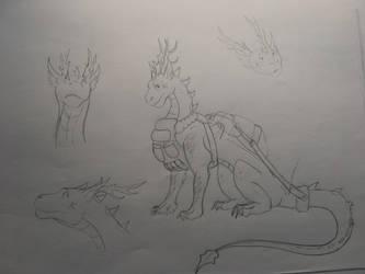 Nimbus doodles by CrystalCircle