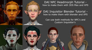How to Make DAI NPC's and Custom Inquisitors by Padme4000