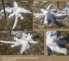 Sunny the Snowgryph by blizzard98