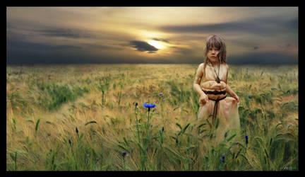 Young Ciri by fOXbain